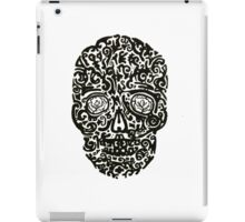 Black Skull iPad Case/Skin