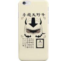 Lost Appa Poster II iPhone Case/Skin