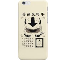 Lost Appa Poster II iPhone Case/Skin