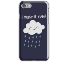 I Make It Rain Cute Storm Cloud iPhone Case/Skin