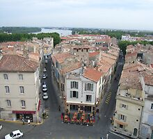 Arles - A Bird's Eye View by coffeebean