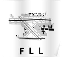 Fort Lauderdale Airport Diagram Poster