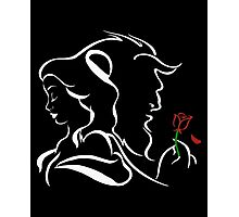 Belle, The Beast and The Rose - The Beauty and The Beast Photographic Print