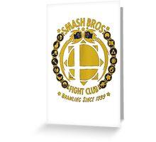 Super Smash Bros. Fight Club Greeting Card