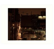 STREET SMART (GASOLINE ALLEY) Art Print