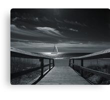 Moonlight Sail Canvas Print