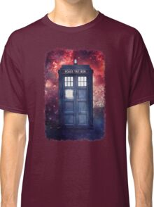 Police Blue Box Tee The Doctor T-Shirt Classic T-Shirt