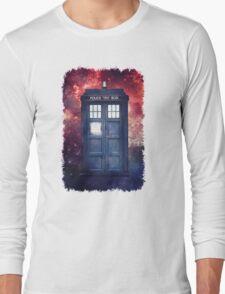 Police Blue Box Tee The Doctor T-Shirt Long Sleeve T-Shirt