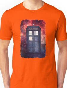 Police Blue Box Tee The Doctor T-Shirt Unisex T-Shirt