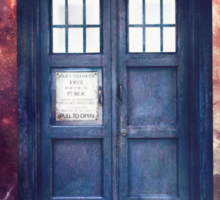 Police Blue Box Tee The Doctor T-Shirt Sticker