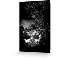 MAINE HOUSE, NEW ENGLAND USA Greeting Card