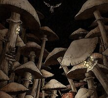 Fungus Forest by Mike Lowe
