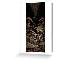 Fungus Forest Greeting Card