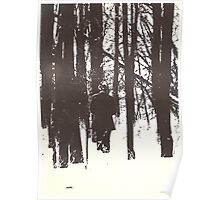 A Walk in Deep Snow/Litho Poster