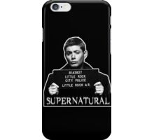 Dean Mugshot iPhone Case/Skin