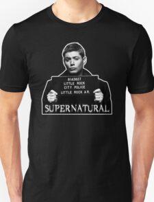 Dean Mugshot Unisex T-Shirt