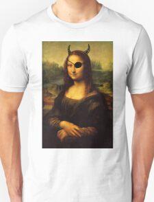 a bit less classy mona lisa T-Shirt