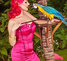 Can Parrots say Tiki? by LadyDamona