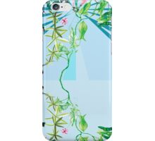 floral ornaments secret waters iPhone Case/Skin