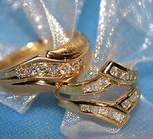 Wedding rings by Cher Cutshaw