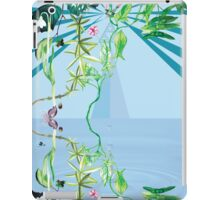 floral ornaments secret waters iPad Case/Skin