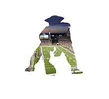 New England Patriots Stadium Color Photographic Print