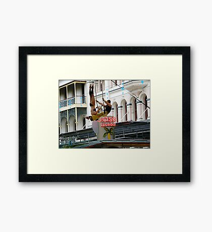 Lets swing  Framed Print