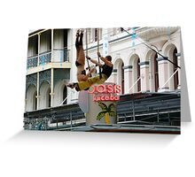 Lets swing  Greeting Card