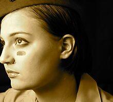Self Portrait #1 by Jenny Wright