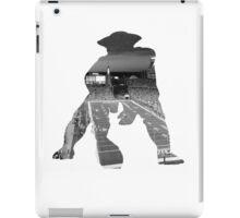 New England Patriots Stadium Black and White iPad Case/Skin