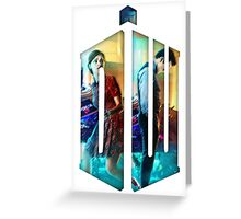 Dr. Who Fans Tee Character T-Shirt Greeting Card