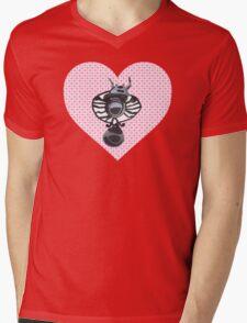 healing angels pattern Mens V-Neck T-Shirt