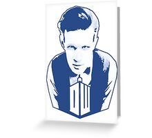 Get it Tee Of Character Dr. Who T-Shirt Greeting Card