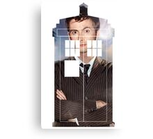 The Doctor Tee - Tardis T-Shirt Canvas Print