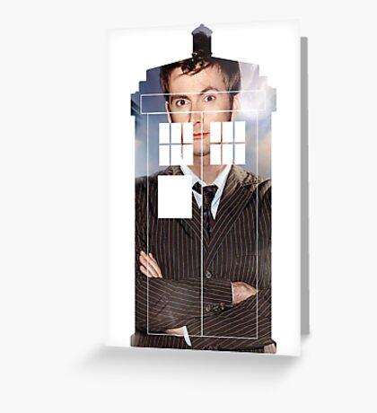The Doctor Tee - Tardis T-Shirt Greeting Card