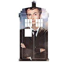The Doctor Tee - Tardis T-Shirt Photographic Print