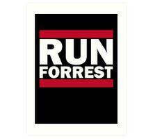 RUN FORREST Art Print