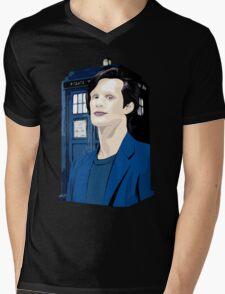 Blue Box Smith Cartoon Character Hoodie / T-shirt Mens V-Neck T-Shirt
