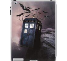 Flying Blue Box In Space Hoodie / T-shirt iPad Case/Skin