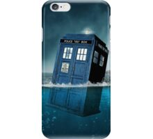 Blue Box in Water Hoodie / T-shirt iPhone Case/Skin