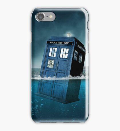 Blue Box in Water Hoodie / T-shirt iPhone Case/Skin