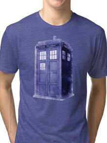 Blue Box Hoodie / T-shirt Tri-blend T-Shirt