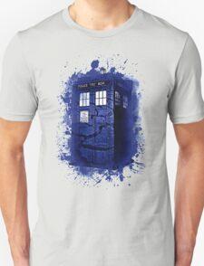 Scratch Blue Box Hoodie / T-shirt Unisex T-Shirt