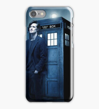 doctor smith tee Tardis Hoodie / T-shirt iPhone Case/Skin