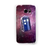 Blue Box nebula Tee Tardis Hoodie / T-shirt Samsung Galaxy Case/Skin