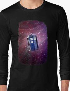 Blue Box nebula Tee Tardis Hoodie / T-shirt Long Sleeve T-Shirt