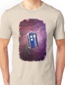Blue Box nebula Tee Tardis Hoodie / T-shirt Unisex T-Shirt
