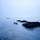 Winter Beach by HAPhotography