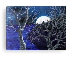 Super Moon Rise Canvas Print
