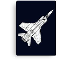 Mig 31 Fighter Aircraft Canvas Print